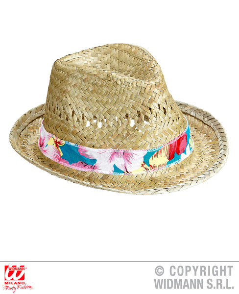 BEACH BOYS STRAW FEDORA