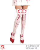 BLOODY NURSE THIGH HIGHS (1Size)