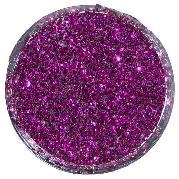 GLITTER DUST 12ml FUCHSIA PINK