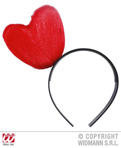 HEART HEADBANDS - RED