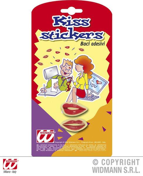 KISS STICKERS SET 4