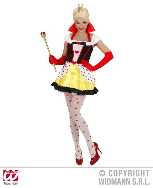 QUEEN OF HEARTS (dress w/petticoat)