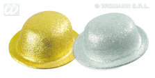 GLITTER BOWLER - gold/silver