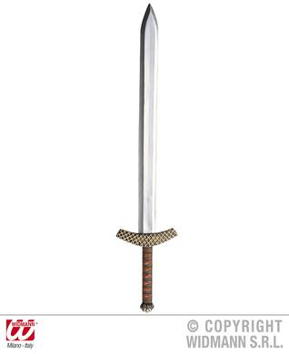 METALLIC CRUSADER SWORD 86cm
