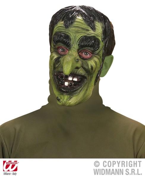 Ambitieux Sorcière Masque Vert Halloween Wicked Gredin Fancy Dress-afficher Le Titre D'origine AgréAble à GoûTer