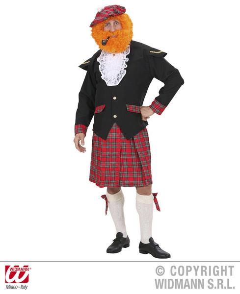SCOTSMAN HEAVY FABRIC (jacket jabot kilt bows hat)