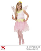 PINK FLOWER PIXIE (dress wings headband) Childrens