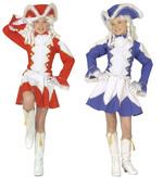 MAJORETTE COSTUME - 2 colours (jacket skirt hat) Childrens