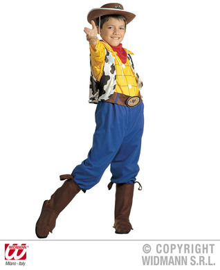 BILLY COSTUME (shirt vest pants belt bcover bandana) Childrens