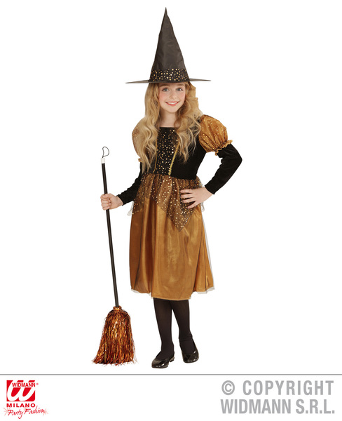 WITCH - TOFFEE/BLACK (dress hat) Childrens