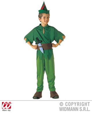 LITTLE PETER COSTUME (coat pants s/covers belt hat) Childrens
