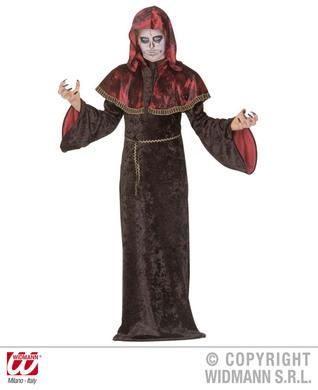 MYSTIC TEMPLAR COSTUME (hooded robe w/tippet belt) Childrens