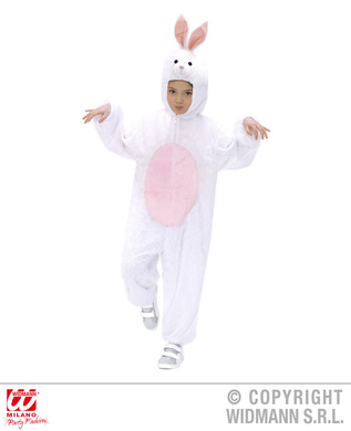 PLUSH BUNNY (hooded jumpsuit with mask) Childrens
