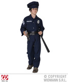 POLICEMAN COSTUME F/OPTIC (jacket pants belt hat) Childrens