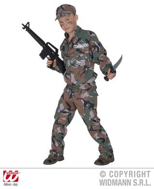 SOLDIER COSTUME F/OPTIC (jacket pants hat) Childrens