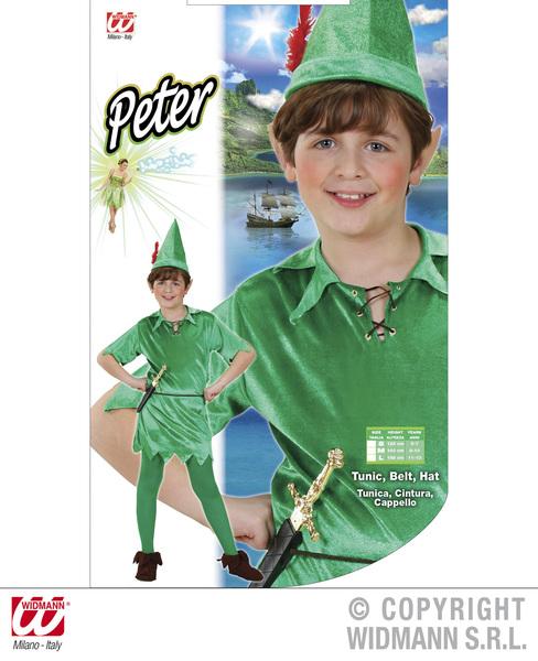 Da Uomo Peter Costume Vestito per Fairytale Boy Costume