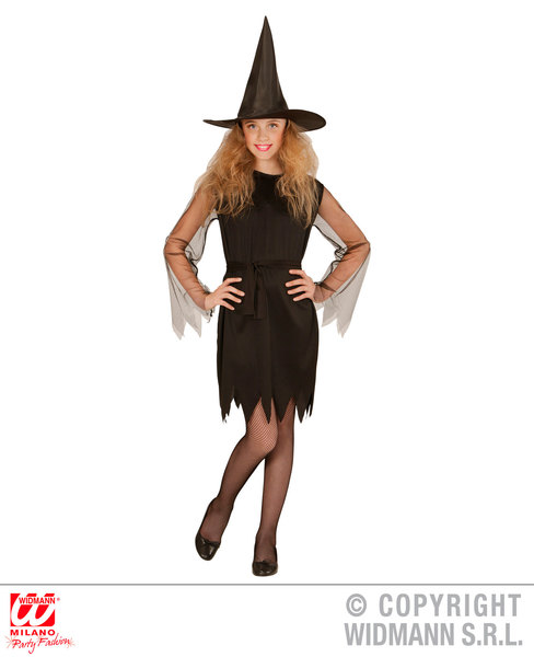 MISS WITCH (dress belt hat) Childrens