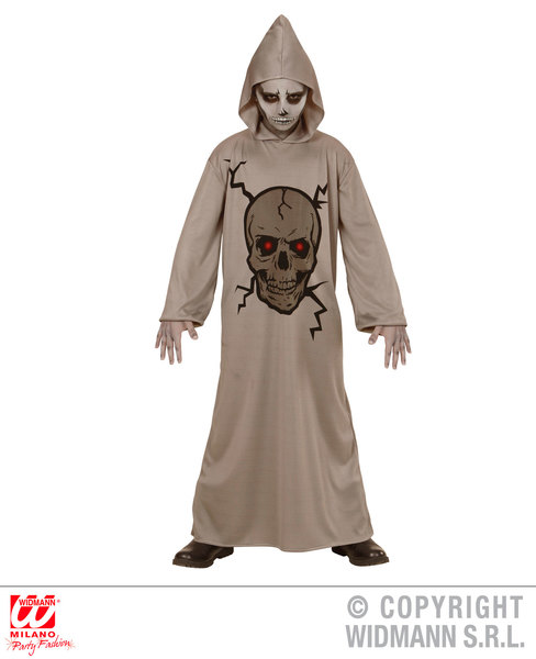 SKULL MASTER (hooded robe) Childrens