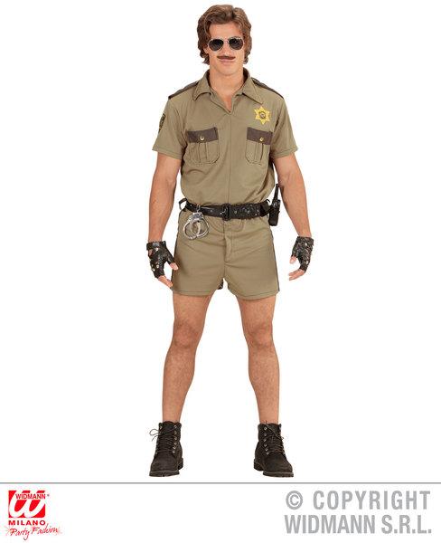 CALIFORNIA H/WAY PATROL OFFICER (shirt shorts badge)