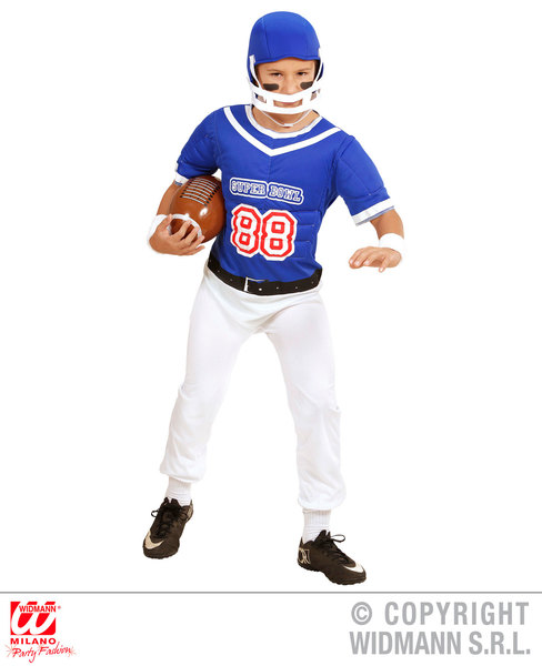 AMERICAN FOOTBALL PLAYER (overalls helmet) Childrens