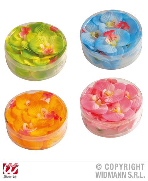 DECORATIVE ORCHID FLOWERS - 4 colours