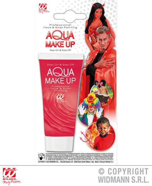 RED AQUA MAKEUP IN TUBE 30ml