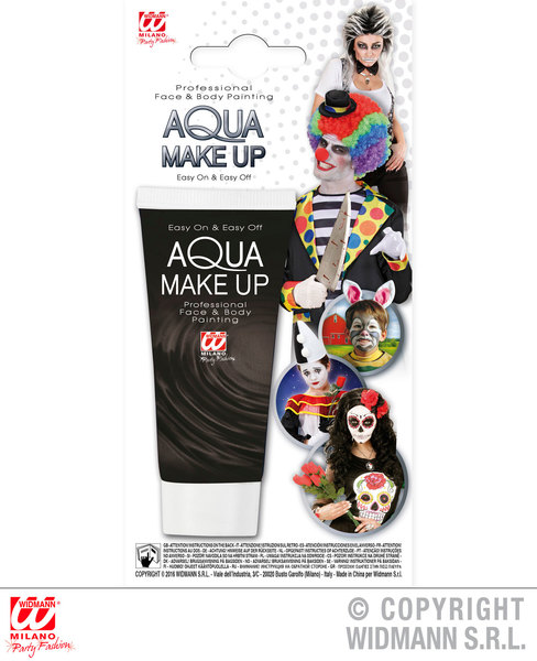 BLACK AQUA MAKEUP IN TUBE 30ml