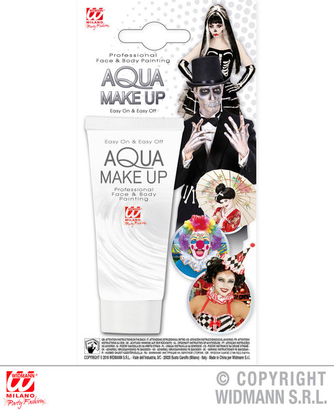 WHITE AQUA MAKEUP IN TUBE 30ml
