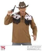 COWBOY SHIRT - BROWN