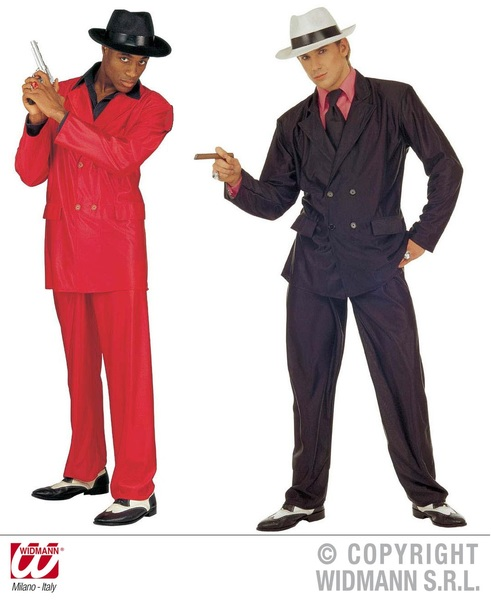 GOODFELLA COSTUME red or black XL (jacket pants)