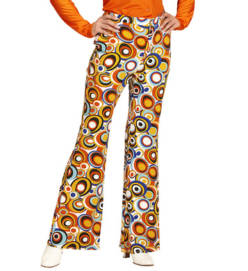 GROOVY 70'S LADY PANTS - BUBBLES