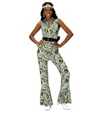 GROOVY 70'S LADY JUMPSUIT - WAVES