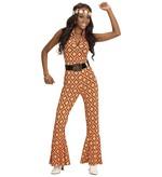 GROOVY 70'S LADY JUMPSUIT - RHOMBUS