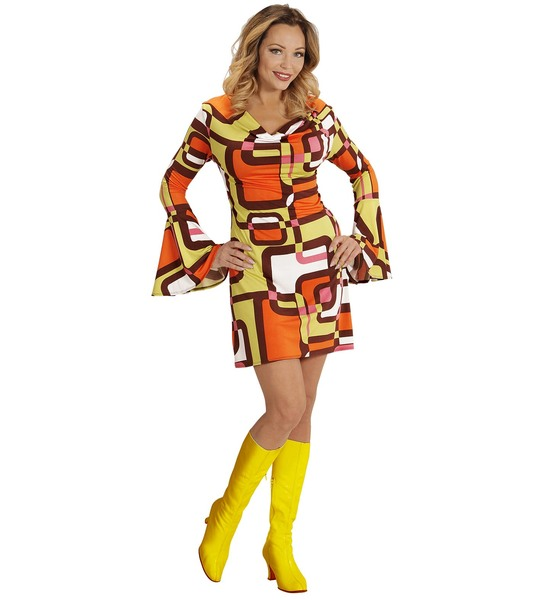 GROOVY 70'S LADY DRESS - TUBES