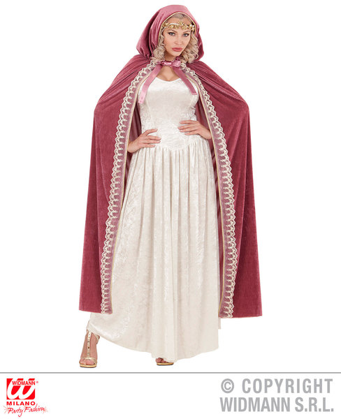 ROYAL PRINCESS HOODED CAPE