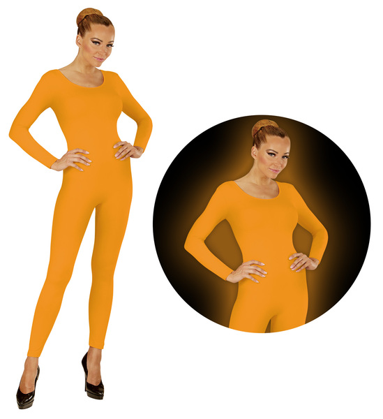 NEON ORANGE BODYSUIT