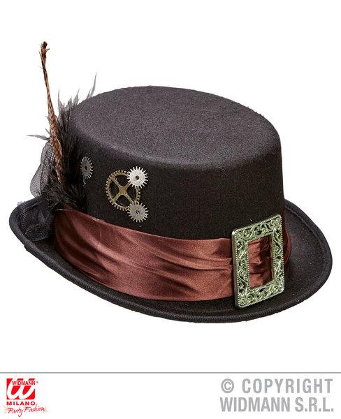 FELT STEAMPUNK TOP HAT
