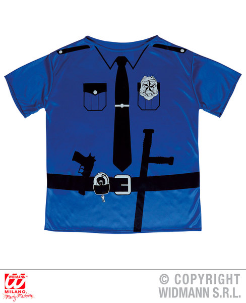 POLICE OFFICER T-SHIRT  Childrens