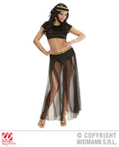 ODALISQUE VELVET COSTUME (top pants hat)  black only