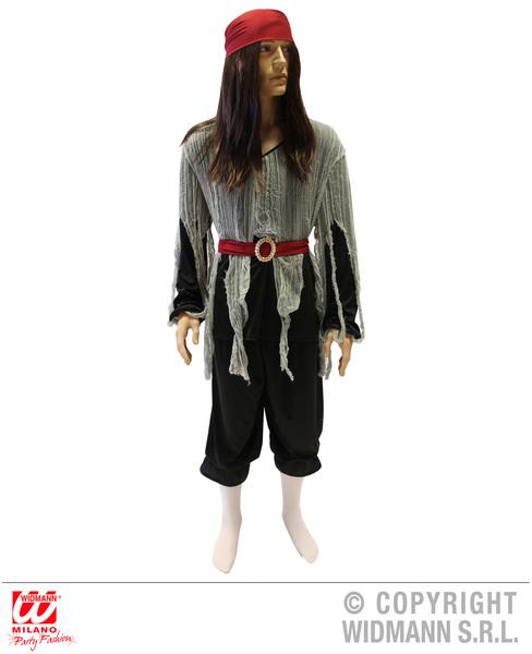 PIRATE (shirt pants belt boot covers bandana)