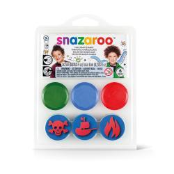 FACE PAINTING STAMP KIT - PIRATE
