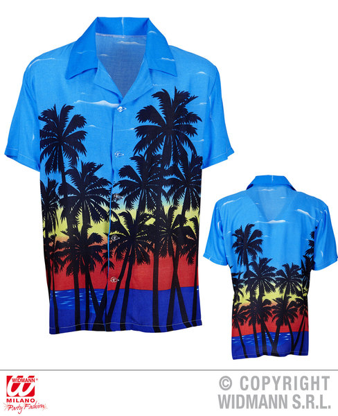 PALM BEACH HAWAIIAN SHIRT