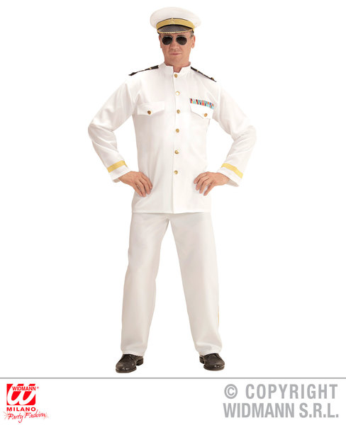 NAVY CAPTAIN (XXL) (jacket pants hat)