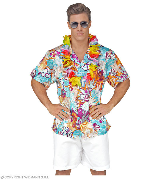 SATIN HAWAIIAN SHIRT (XXL)