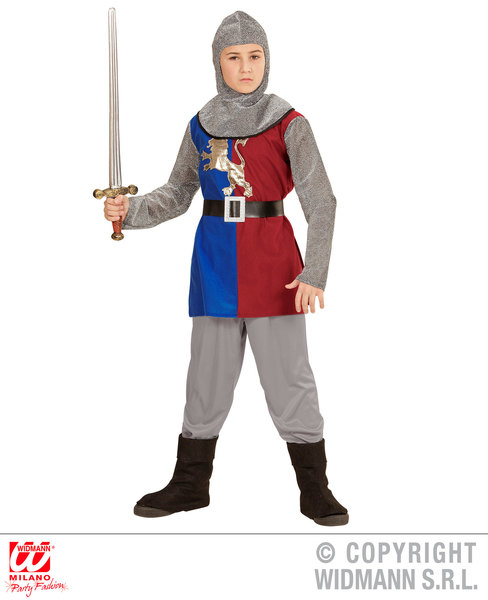 MEDIEVAL KNIGHT- BLUE/RED  Childrens
