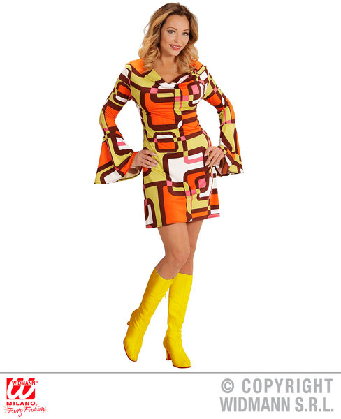 GROOVY 70s LADY DRESS - TUBES