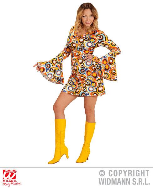 GROOVY 70s LADY DRESS - BUBBLES