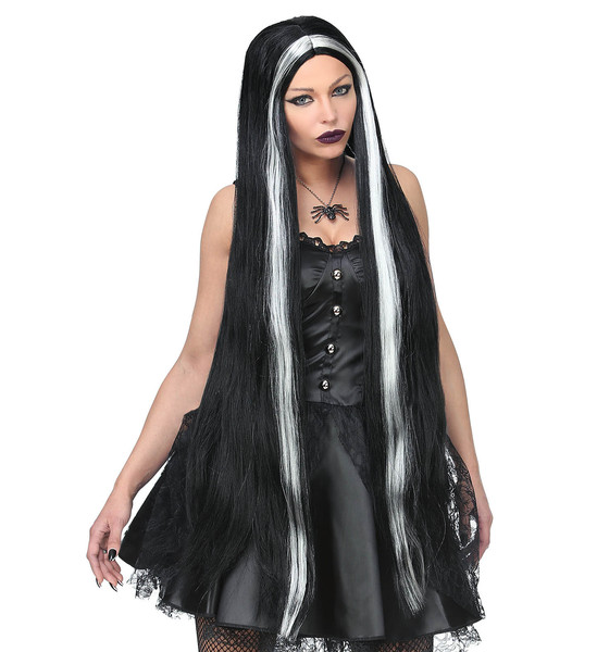 EXTRA LONG WITCH WIG (in polybag)