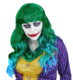 EVIL JOKER WIG (in polybag)