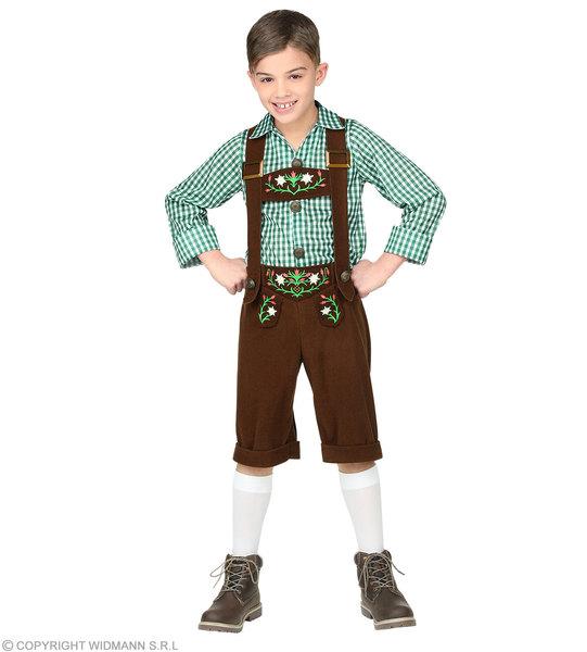 COPY OF BAVARIAN (shirt, lederhosen)  Childrens